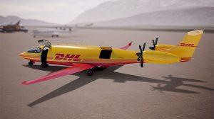 DHL Express aviación sostenible