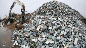 Manejar residuos electrónicos y eléctricos a favor del medio ambiente