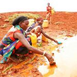 Jóvenes africanos afectados por cambio climático