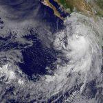 Impacta huracán Newton en Baja California Sur