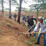 Brigadas comunitarias para combate a incendios en Chiapas