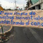 Convocan a marcha para proteger manantial en Av. Aztecas