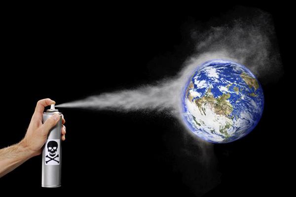 La Contaminacin Del Aire Por Aerosoles