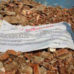 Hallan depósito ilegal de residuos del sismo en Oaxaca