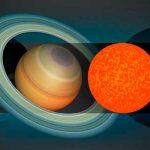 Descubren estrella del tamaño de Saturno