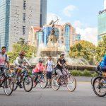 Rotundo éxito en el Día Mundial de las Ciclovías Recreativas