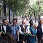 Inauguran la 3ª exposición Mosaico Natura México en rejas de Chapultepec