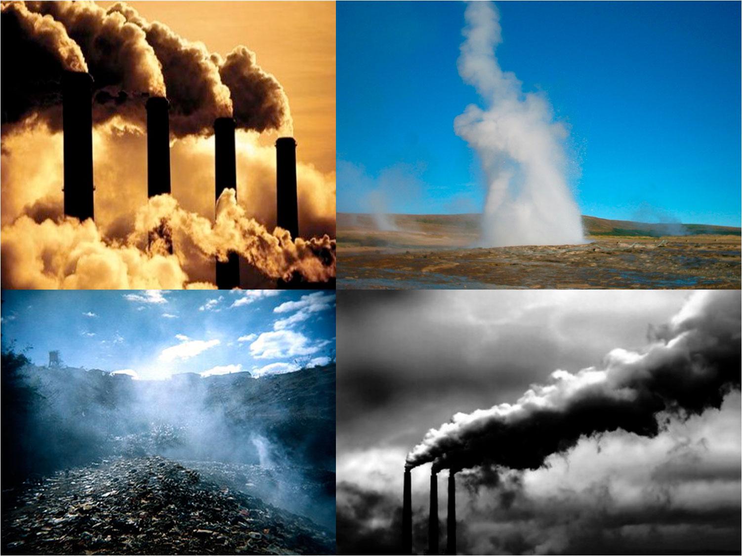 gases tipo invernadero