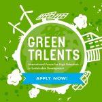Convocan a Green Talents