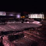 INAH y Gobierno CDMX entregan nueva iluminación del Centro Histórico