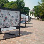 Inauguran exposición fotográfica Reflejos ciclistas en CDMX