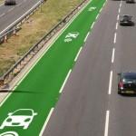 Construirán en Inglaterra carriles para recargar la batería de vehículos eléctricos