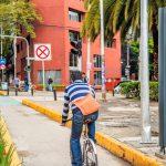 Instalan contadores ciclistas en Ciudad de México