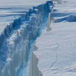 Mega grieta en hielo Antártico crece casi 18 km en 6 días