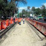 Preparan carril para L-7 del metrobús en Reforma