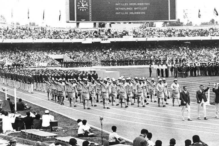 Los Juegos olímpicos de 1968, congregaron a 5 mil 516 atletas de 112 países