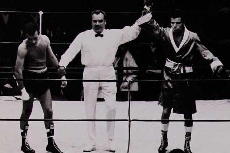 Antonio Roldán, medalla de oro en box, 57 kg.