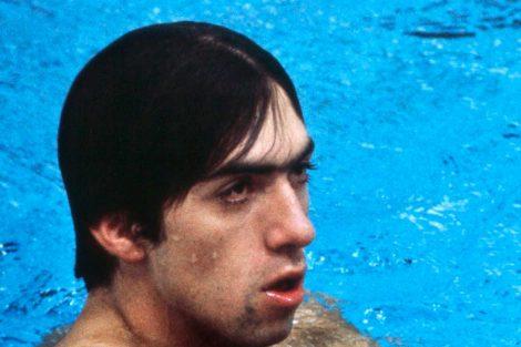 "Felipe ""Tibio"" Muñoz, medalla de oro en 200 metros nado de pecho"