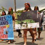 Mujeres indígenas contra petroleras chinas en Ecuador