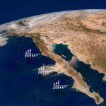 La península de Baja California comienza a separarse de México
