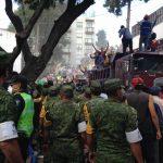Militares aplican Plan DN-III-E para atender daños por el terremoto