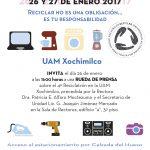 Próximo Reciclatrón en UAM-Xochimilco