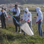 Realizan limpieza en laguna Salazar