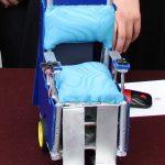 Presentan silla de ruedas que promueve rehabilitación