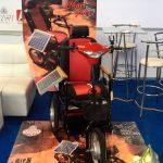 En junio, saldrían a la venta sillas de ruedas solares
