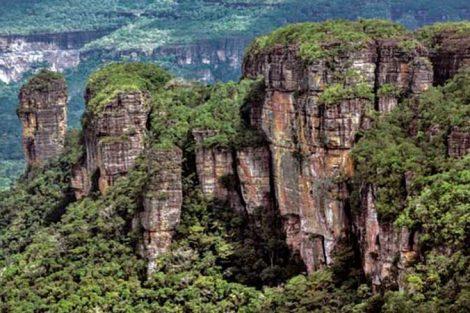 Montes de Barberton Makhonjwa, Sudáfrica