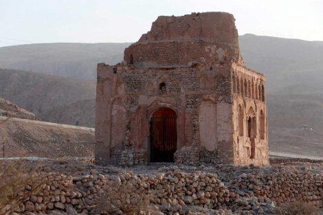 Ruinas de la antigua ciudad de Qalhat, Omán