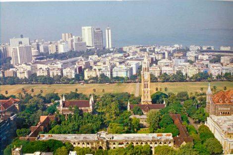 Conjunto arquitectónico victoriano y art déco de Bombay, India