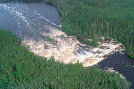 Reserva de la biosfera Pimachiowin Aki en el bosque Boreal de Manitoba y Ontario, Canadá