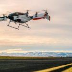 Vahana, vehículo autónomo eléctrico de despegue y aterrizaje vertical